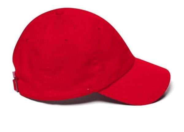 Trump Red Maga Hat Side
