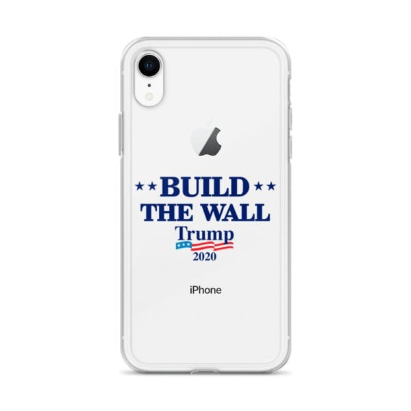 Iphone Build The Wall Trump 2020 Phone Case