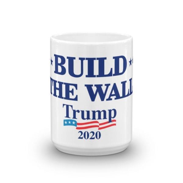 Build The Wall Trump 2020 - Mug