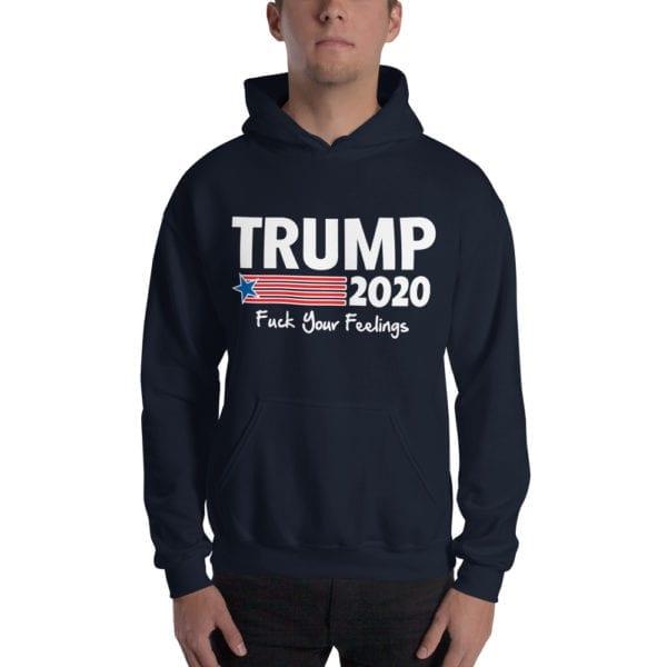 Trump 2020 Navy Hoodie