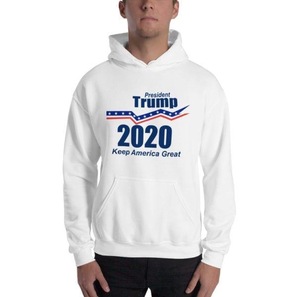 President Trump 2020 White Hoodie