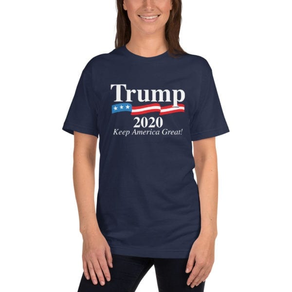 Trump 2020 Keep America Great - T-shirt (Navy)