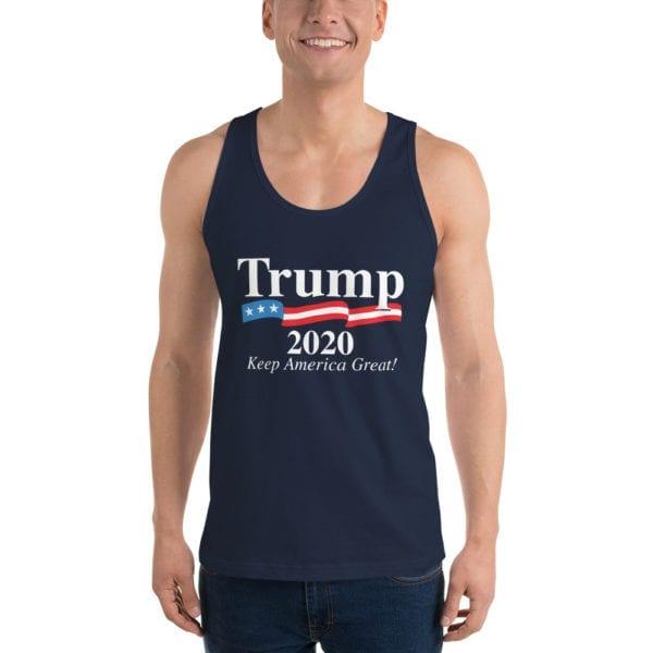 Trump 2020 Keep America Great! - Tank Top (Navy)