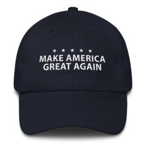 Trump Maga Hat Navy