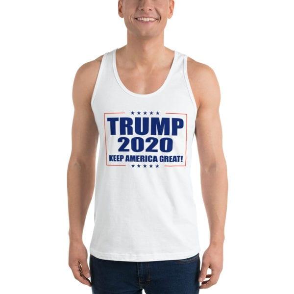 Trump 2020 Keep America Great! - Tank Top (White)