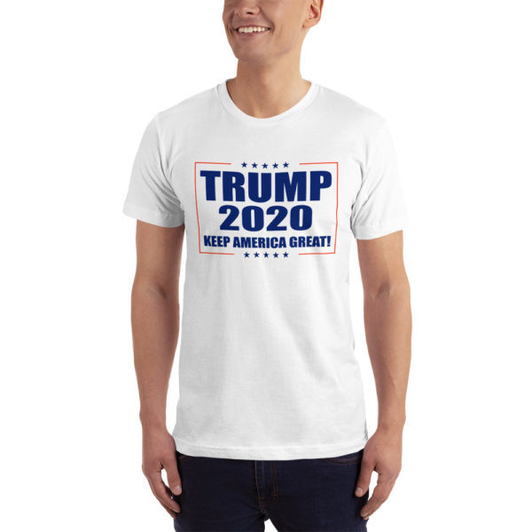 Trump 2020 Keep America Great! - T-shirt (White)