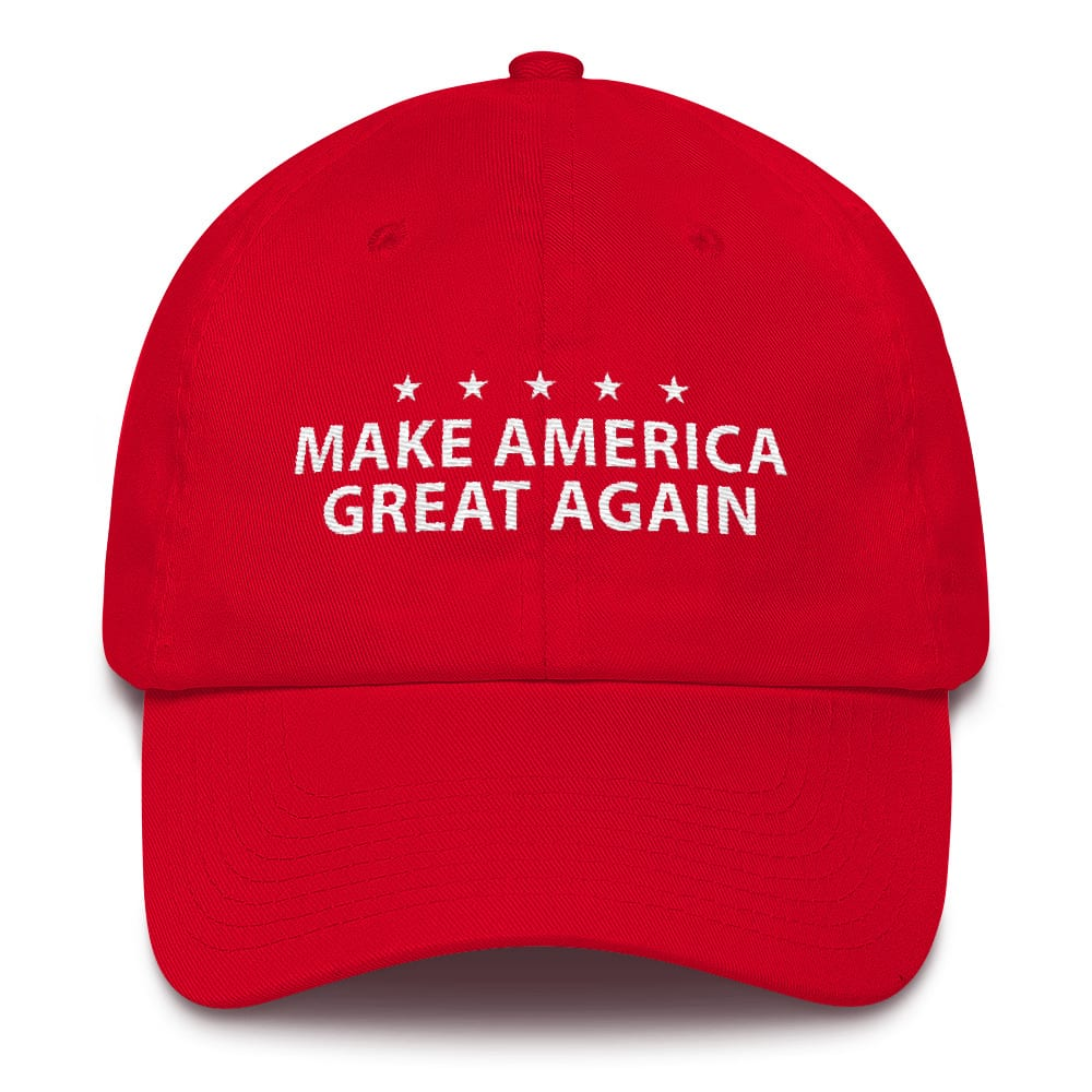 Red Maga Hat