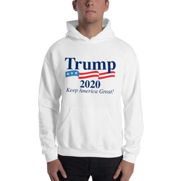 Trump 2020 White Hoodie