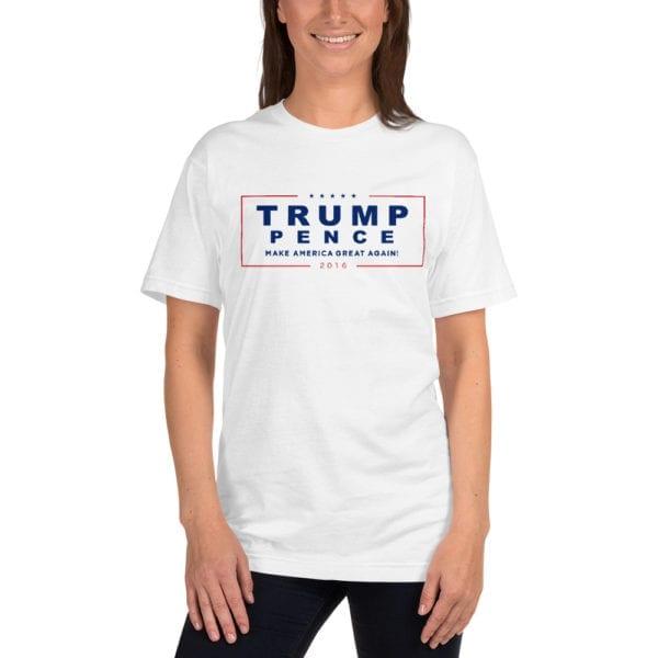 Trump Pence Make America Great Again! - T-shirt (White)