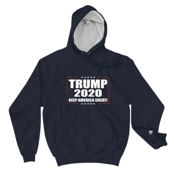 Trump 2020 Keep America Great! - Hoodie (Navy)