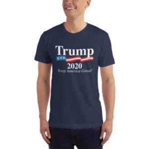 Trump 2020 Keep America Great! - T-shirt (Navy)
