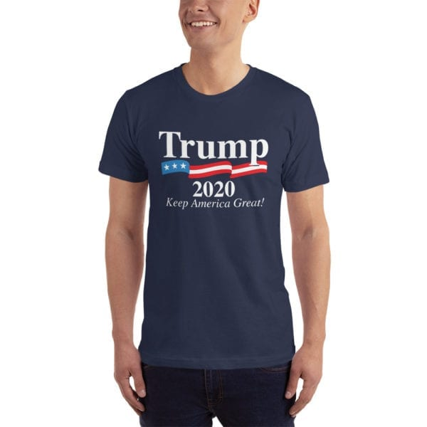 Trump 2020 Keep America Great! - T-shirt (Navy)