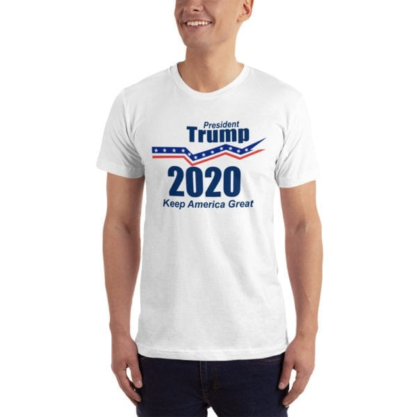 President Trump 2020 Keep America Great - T-shirt (White)