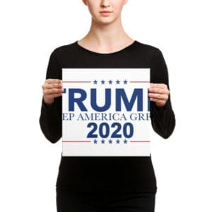 Trump Keep America Great 2020 - Canvas