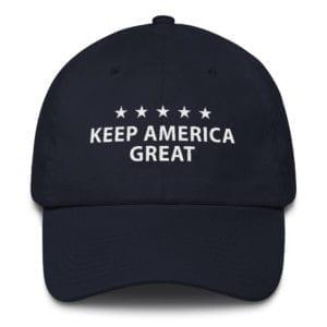 Trump 2020 Keep America Great Hat Navy