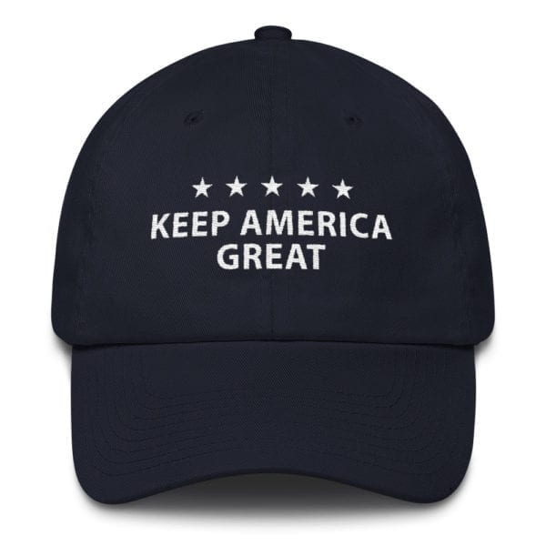 Trump 2020 Keep America Great Hat Navy