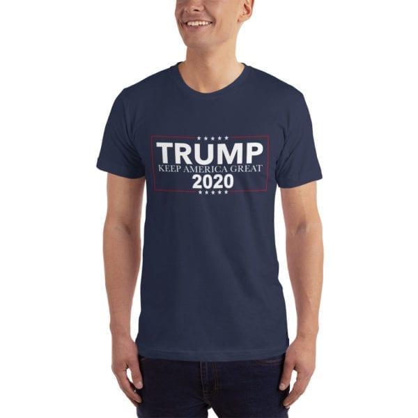 Trump Keep America Great 2020 - T-shirt (Navy)