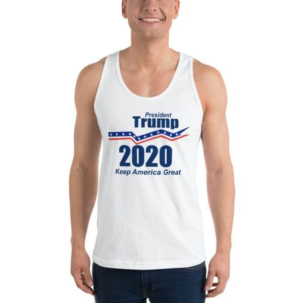 President Trump 2020 Keep America Great - Tank Top (White)