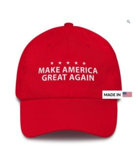 Trump 2020 MAGA Hat Made IN Usa