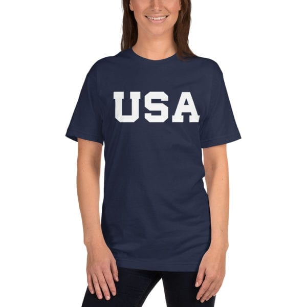 Trump 2020 USA Navy T-Shirt