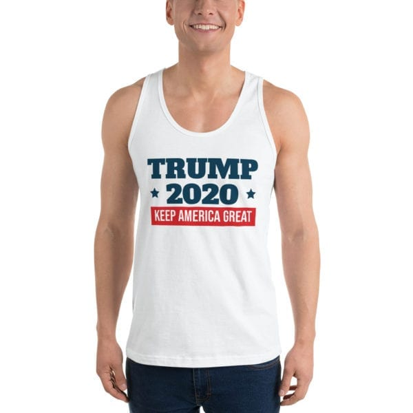 Trump 2020 White Tank Top
