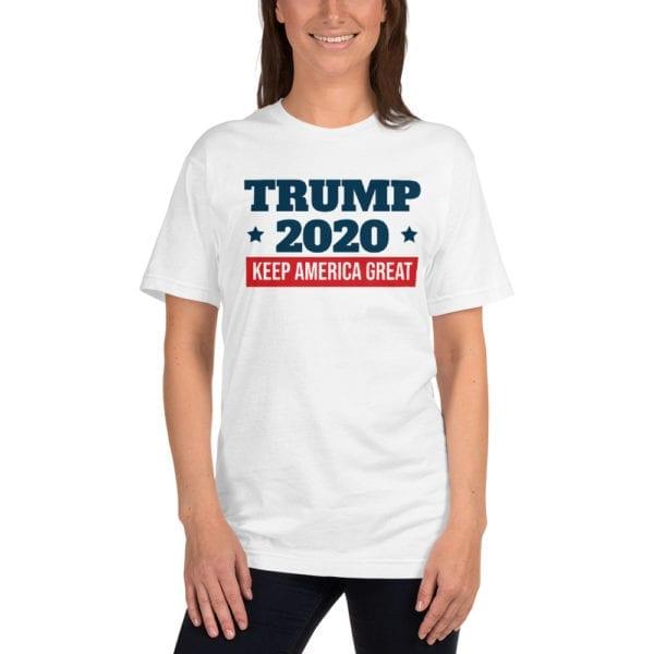 Trump 2020 Keep America Great Shirt white