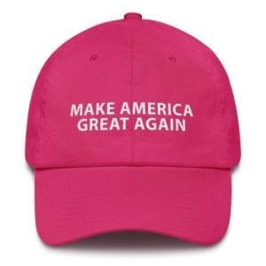 Trump 2020 Pink Maga Hat