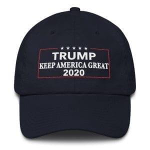 Trump 2020 Keep America Great Navy Hat