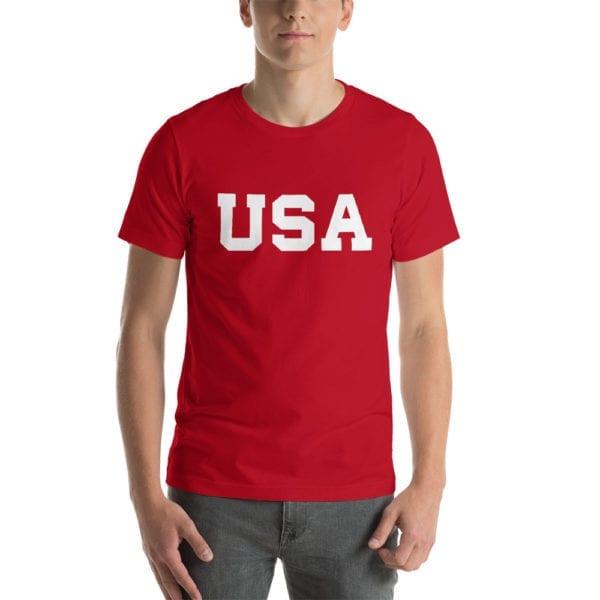 Trump 2020 USA Red T-Shirt - Trump USA Red T-Shirt.