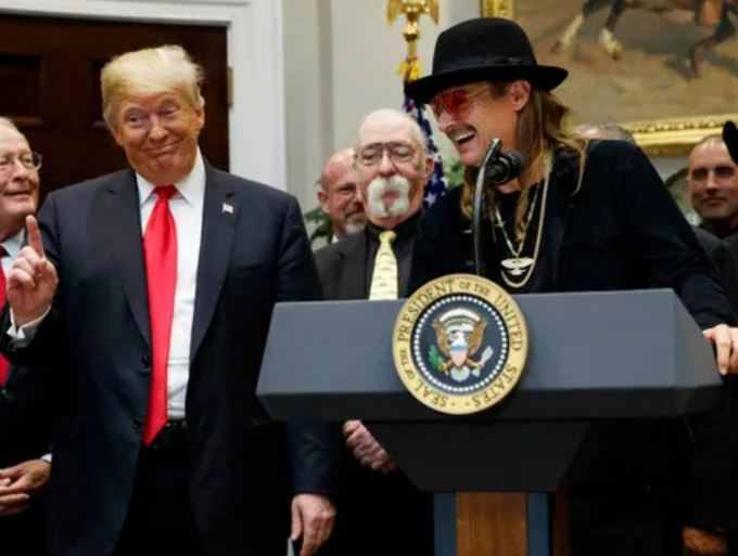 Trump Kid Rock