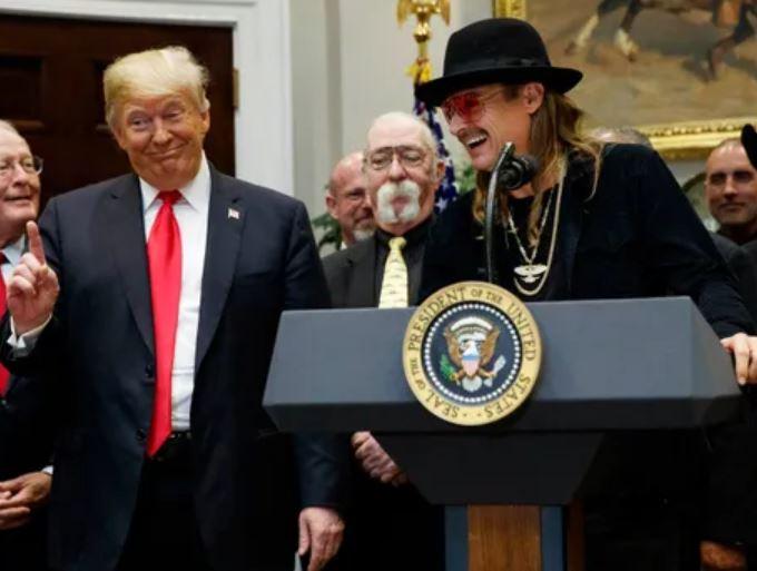 Trump Kid Rock