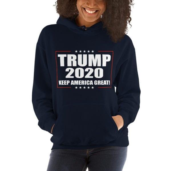 Trump 2020 Keep America Great Hoodie
