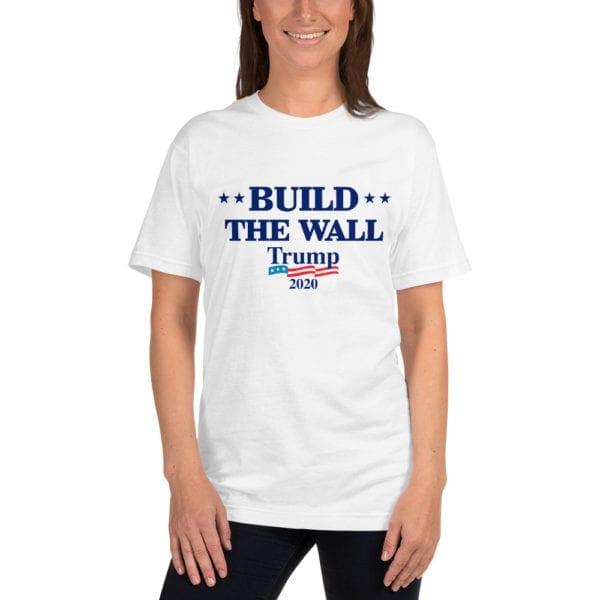 Trump Womens Build The Wall Shirt