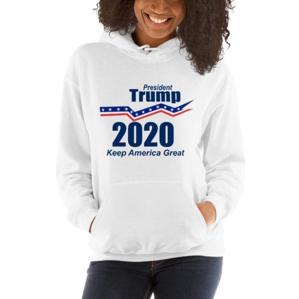 president Trump 2020 Womens Hoodie