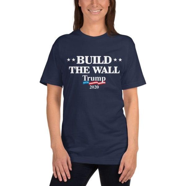 build the wall womens shirt
