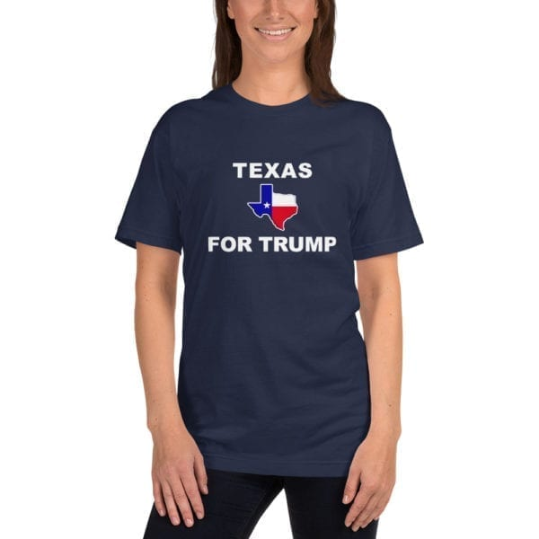 Texas For Trump Womens Shirt