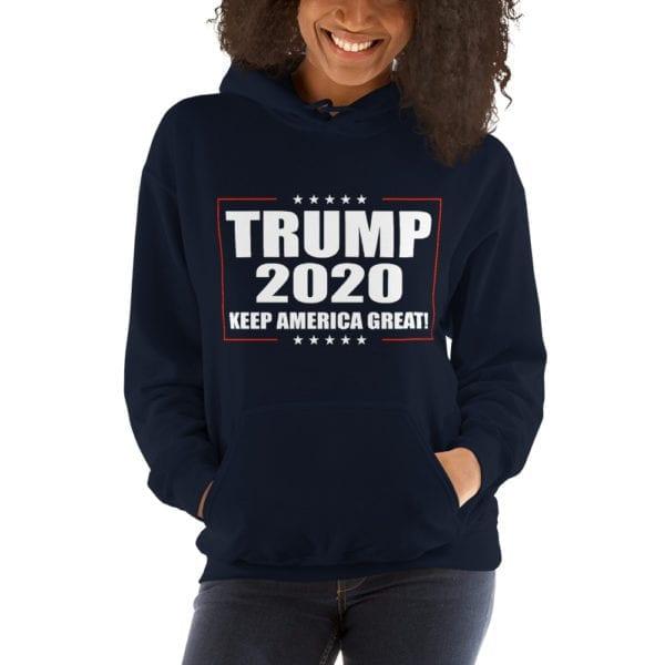 Trump 2020 Womens Hoodie