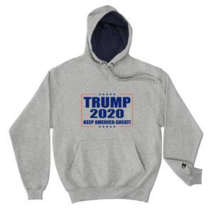 Trump 2020 Keep America Great Champion Hoodie