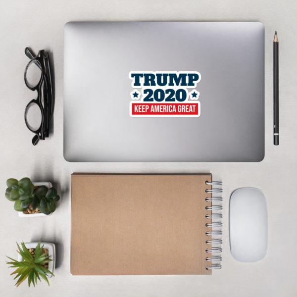 Trump 2020 Keep America Great Bumper Sticker
