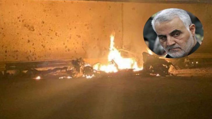 Solemani killed in US Drone Strike